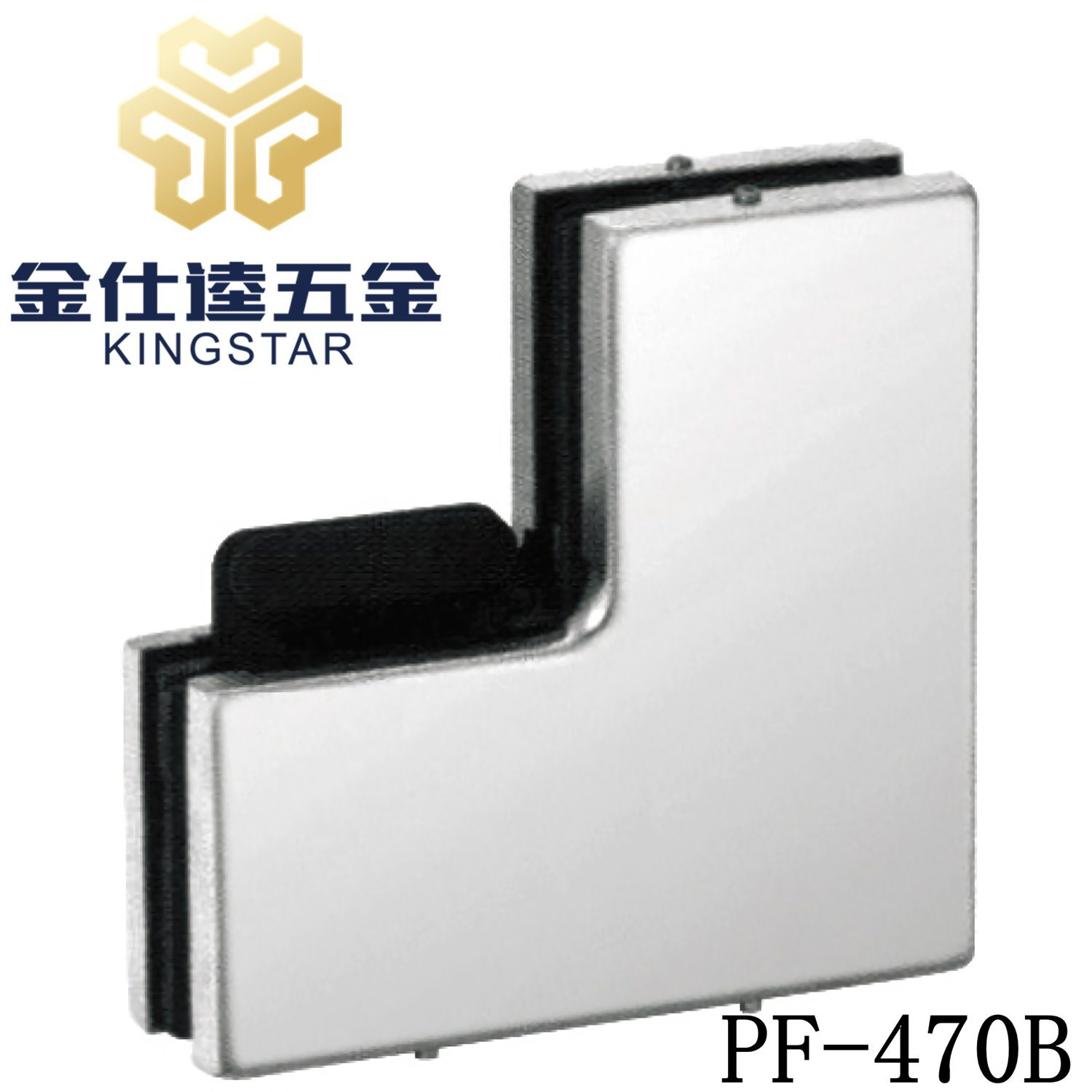 China Glass Door Side Panel Over Panel Upper Top Patch Fitting With