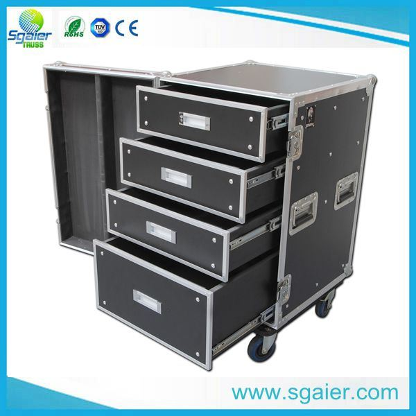 Newest Drawer Flight Case and Aluminum Road Drawer Flight Case