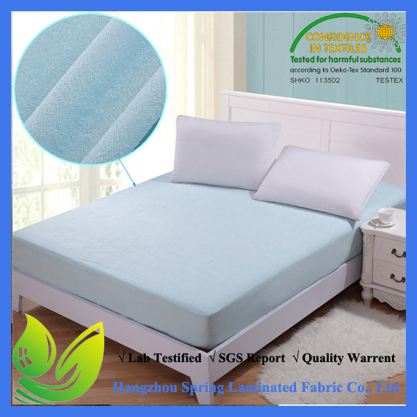 2016 Waterproof Ant-Bacterial Bamboo Adult Mattress Protector pictures & photos