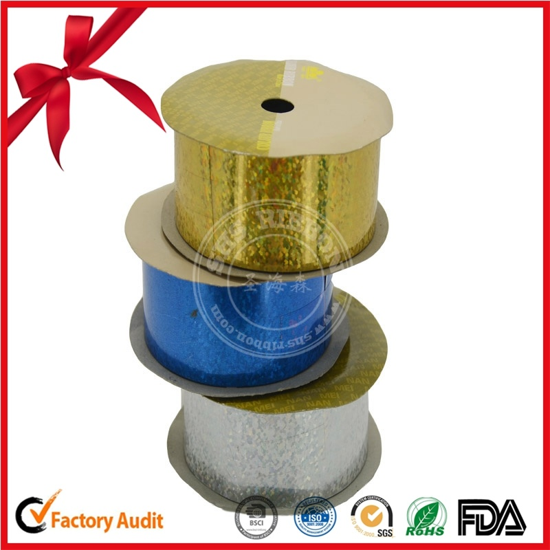 Wholesale PP Embossed PP Ribbon Bows PP Ribbon Flowers for Gift Packing