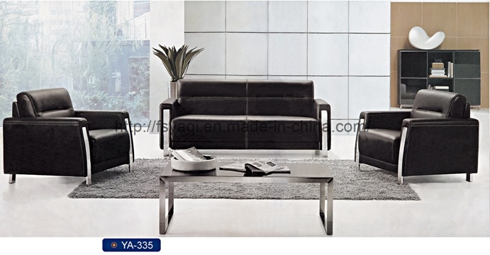 Modern Office Sofa with Stainless Legs, Leisure Sofa, Executive Office Sofa Set (YA-335)