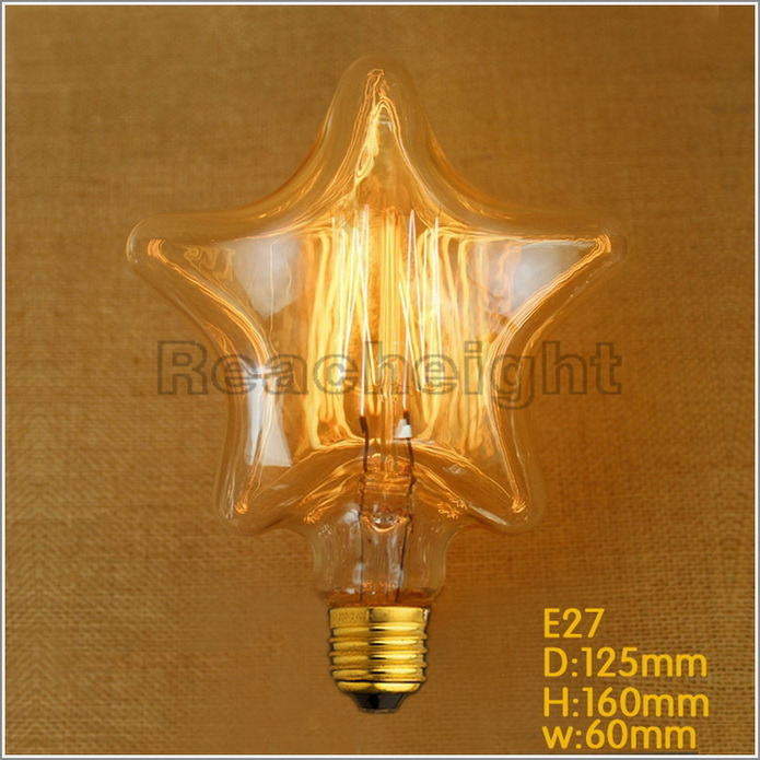 Hot Item Fg S125 Star Edison Bulb For Decorative Lightings