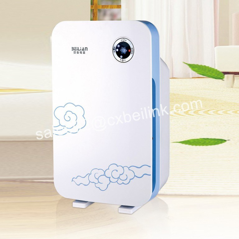 Smart Home Appliance of Air Washer with Dust Sensor