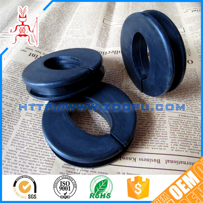 China Oval Large PVC Plastic Blind Grommet Hole Cover / Rubber