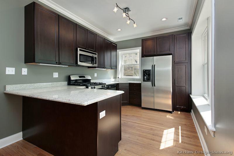 China Kitchen Furniture Dark Espresso Kitchen Cabinets De24 China Kitchen Cabinets Expresso Kitchen