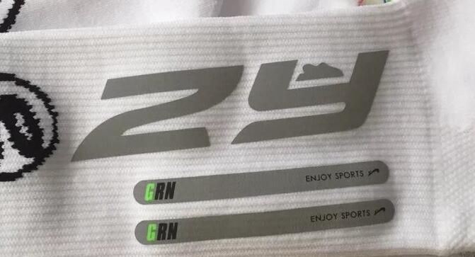 Custom reflective heat transfer logo reflective stickers