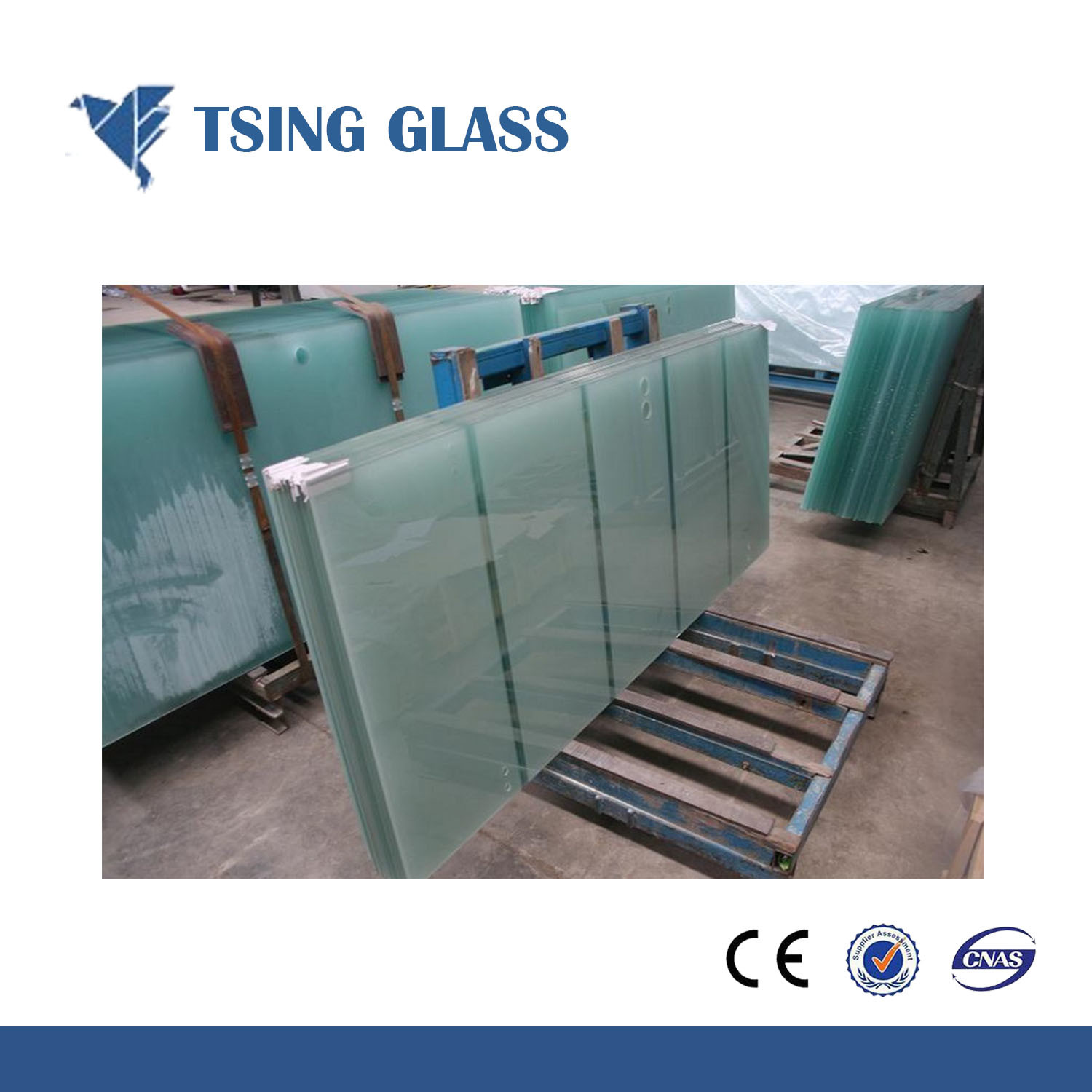 China Tempered Insulated Glass Laminated Glass For Shower Doors