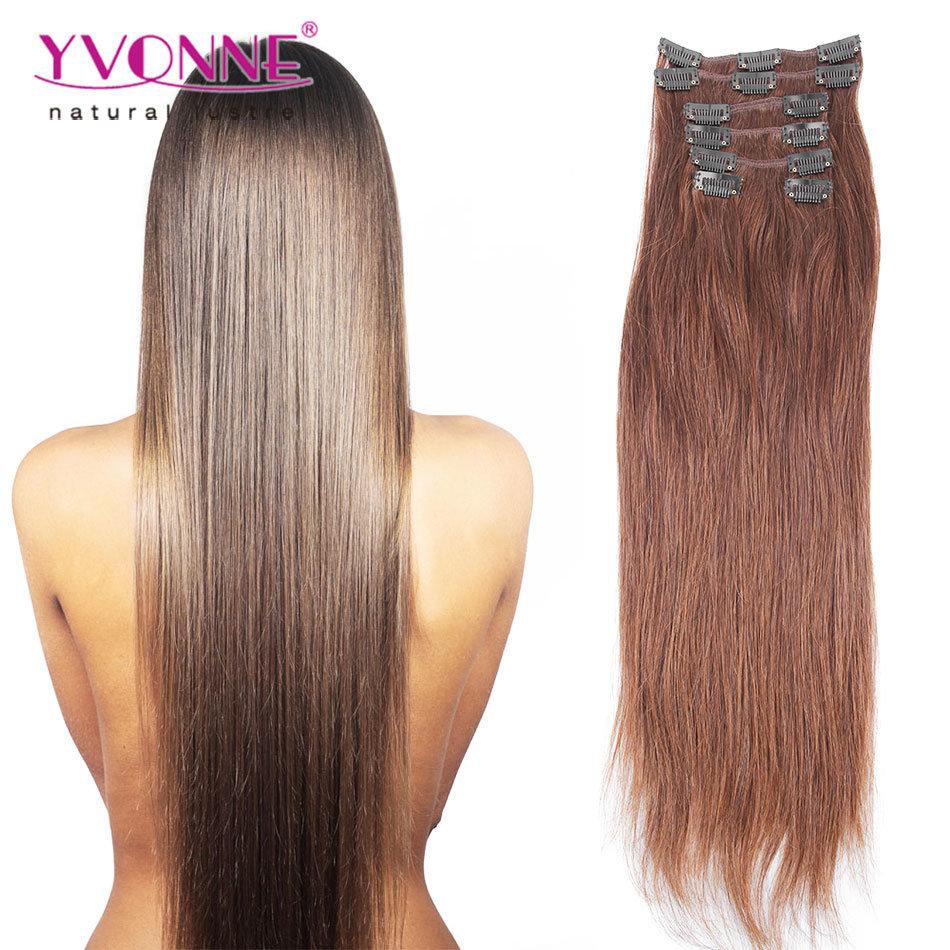 China 100 Top Real Human Hair Clip In Hair Extensions China Hair