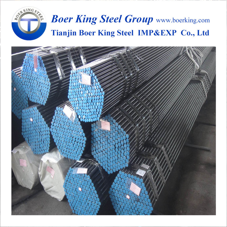 China DIN 200 St37 St52 Carbon Seamless Steel Pipe for Boiler Steel ...