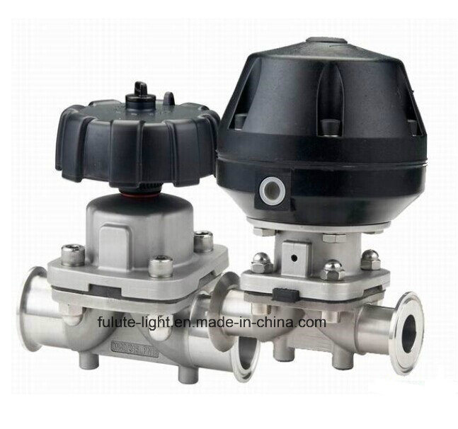 Food Grade Electric Control Stainless Steel Sanitary Butterfly Valve pictures & photos