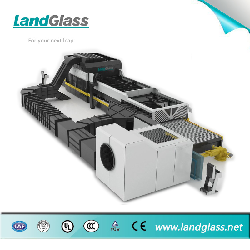 Landglass Force Convection Low-E Glass Tempering Machine pictures & photos