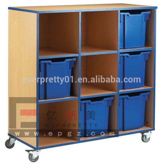 China Fashion Kids Toys Cabinet Preschool Wooden Furniture Children