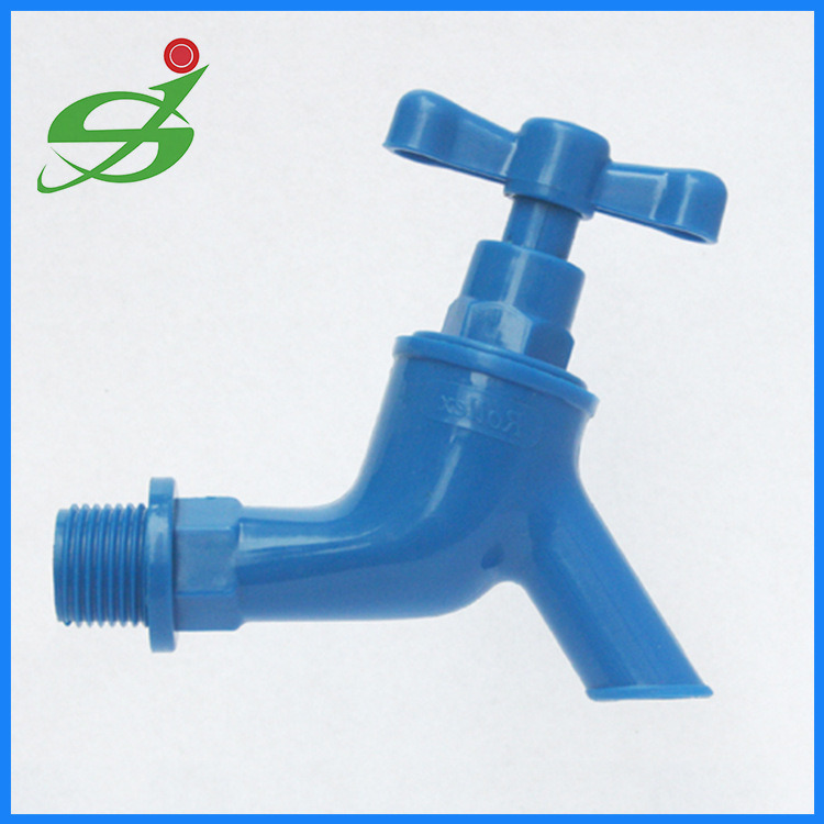 China Cheapest Plastic PP Water Tap with 1/2 Inch - China UPVC Ball ...
