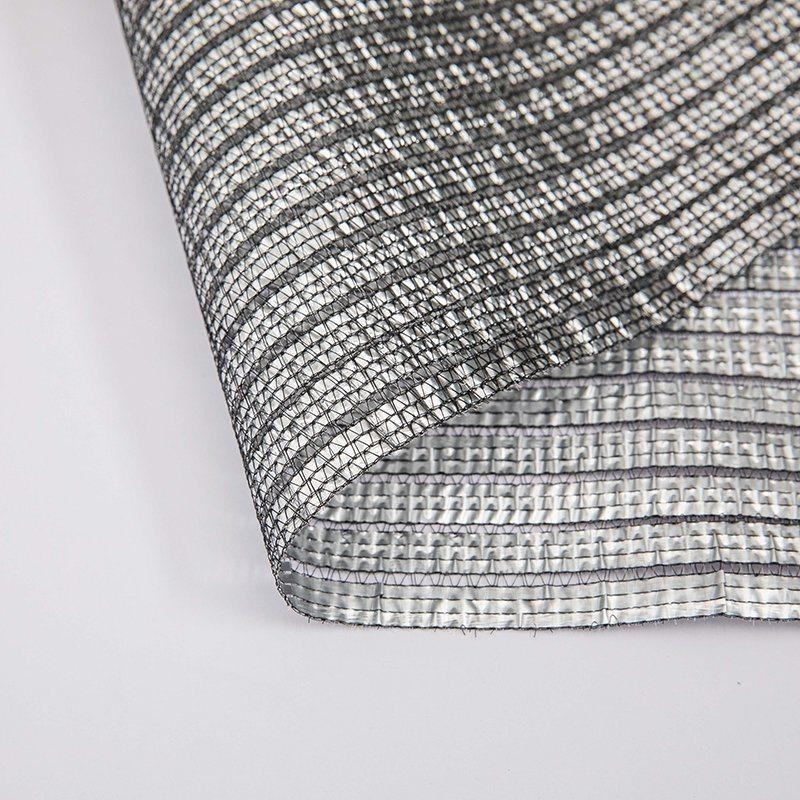 China Sun Reflective Aluminum Shade Net, Woven Fabric Silver Shade Mesh,  Heat Control Aluminum Shade Cloth - China Shade Net and Malla Raschel price