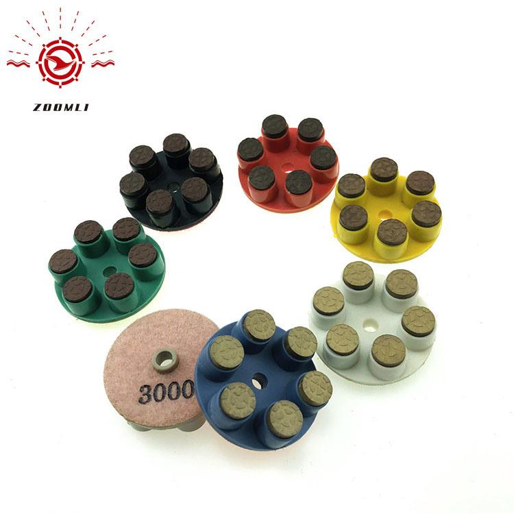 China Terrazzo Grinding Pads Diamond Floor Polishing Pad For