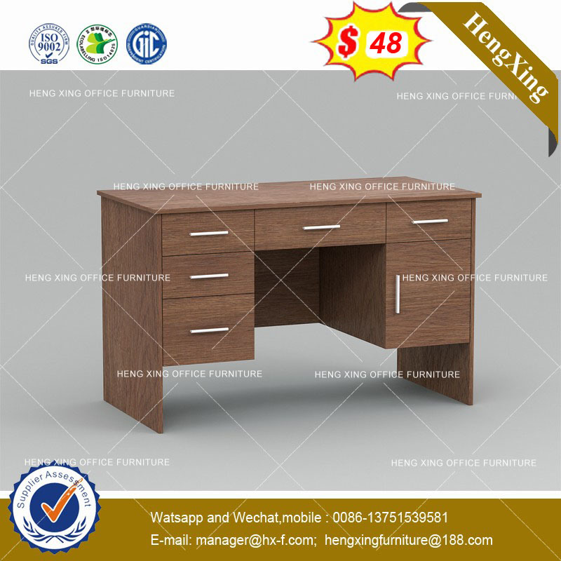 China Antique Style Middle Size Teak Color Office Computer Desk Hx 8ne013 Table