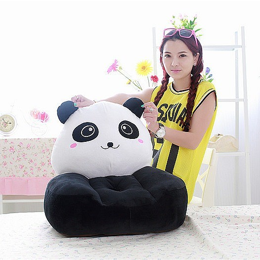 Children Baby Panda Kids Armchair Recliner Toddler Couch Seat Chairs
