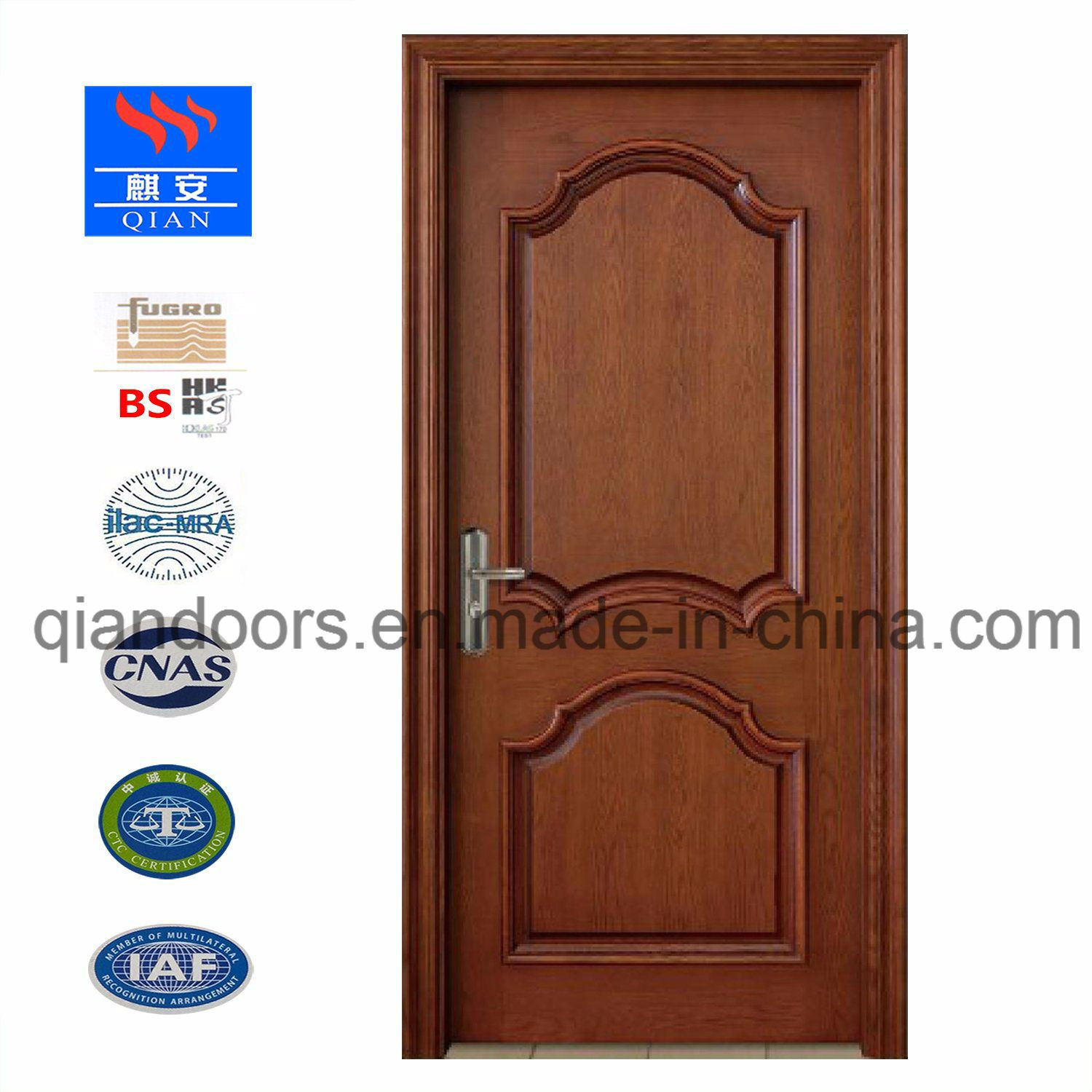Villa Door Luxury Cheey Solid Wood Door pictures & photos