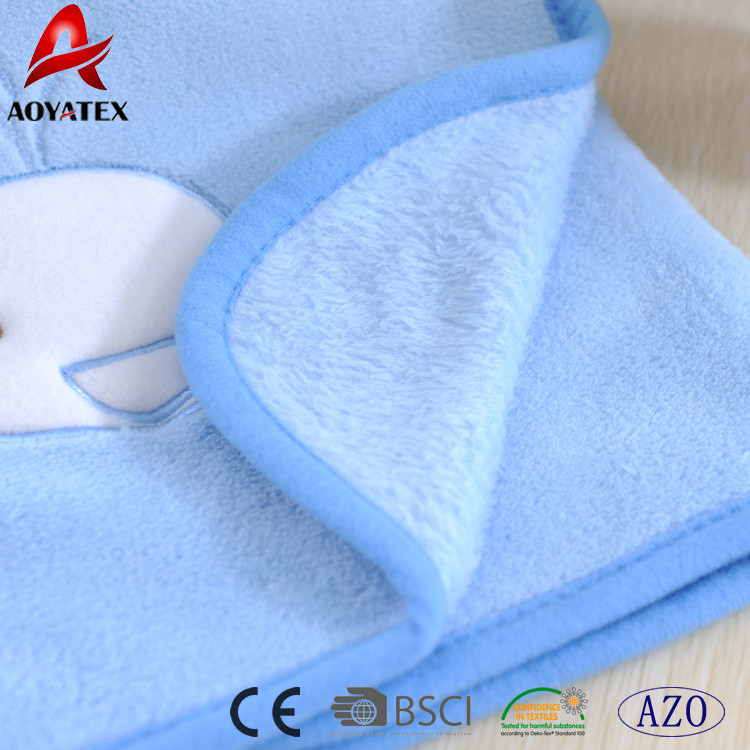0cd5d9c355eb China Top Sale Cetaceous Pattern Baby Blankets