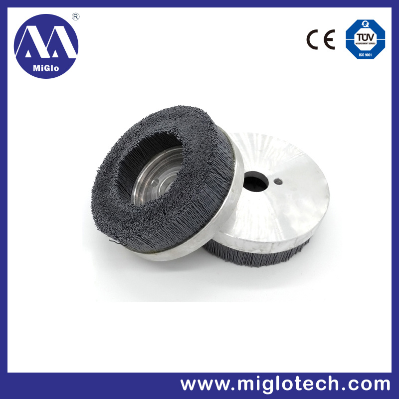 Customized Industrial Brush Disc Brush for Deburring Polishing Silicon Carbide Abrasive Wire (dB-100022) pictures & photos