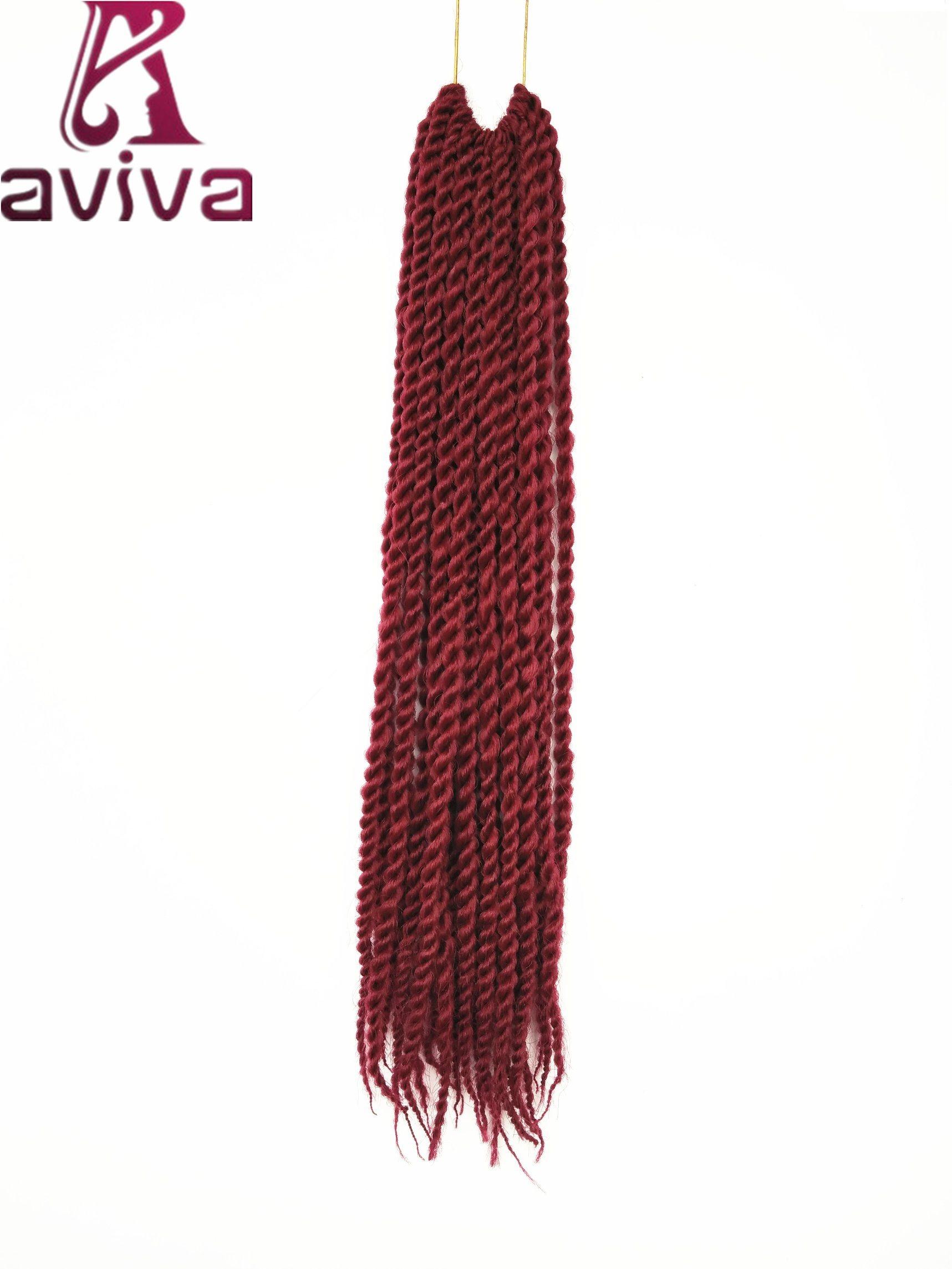China 24 Inch Synthetic Hair Kanekalon Twist Braiding Hair