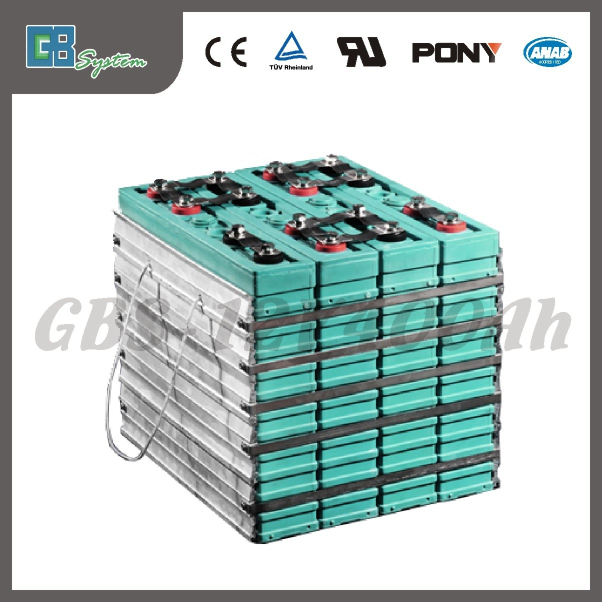 China 12V 400ah Lithium Ion Battery Pack for Solar/Car System ...