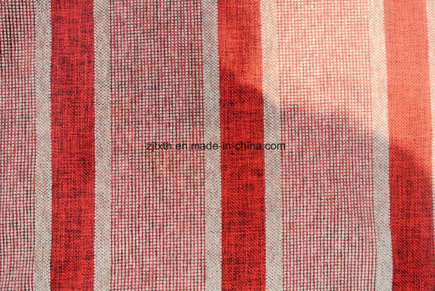 Striped Upholstery Fabric For Sofa Fth31147