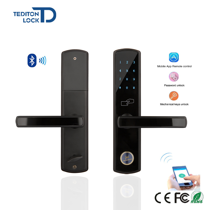 Unique Airbnb House Smart Password Keypad Digital Bluetooth Door Lock Fresh -  Residential Door Locks Minimalist