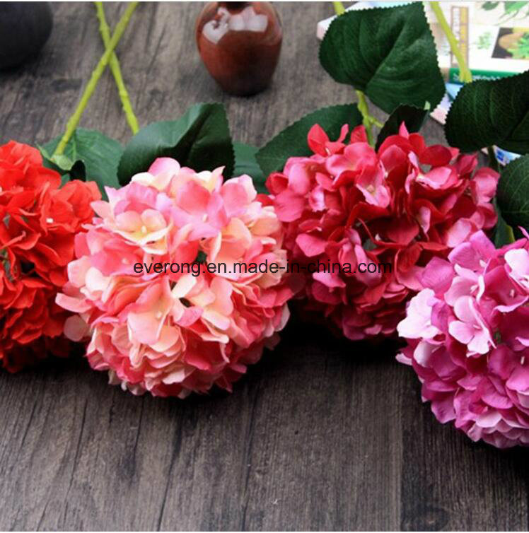 China Artificial Hydrangea Bouquet Uk Canada Wedding Bouquet