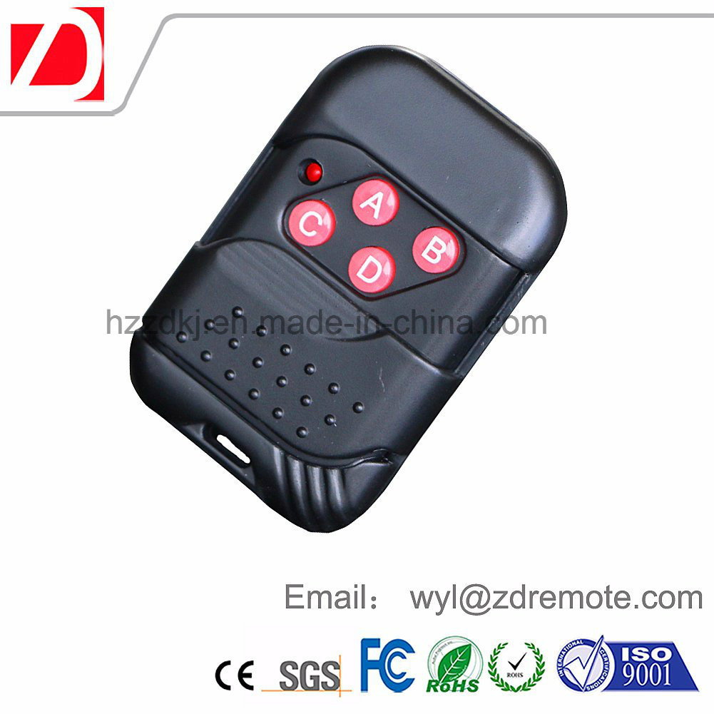 China Battery Operated Garage Door Opener Wireless Remote Control
