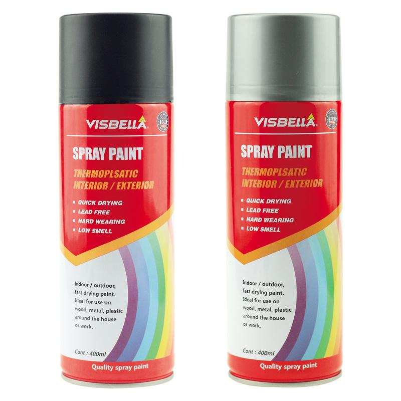 [Hot Item] Temperature Aerosol Primer Spray Paint High Heat Resisting