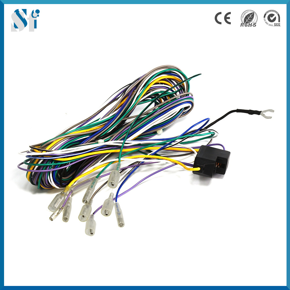 Automotive Wiring Harness Supplies Golden Schematic Diagram Timer Switch 8546681c China Manufacture For Automobile