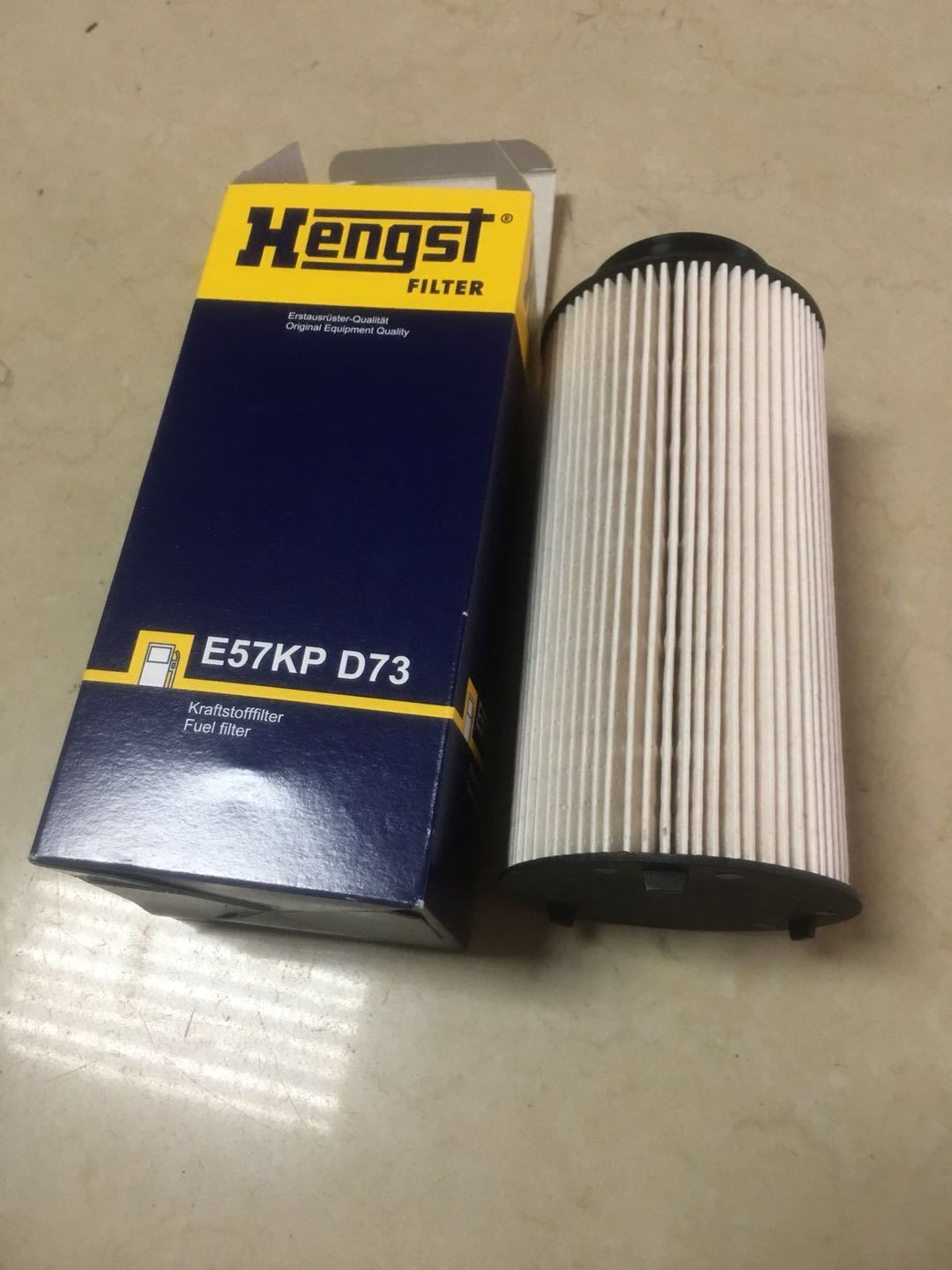 China Hengst Fuel Filter E57kp D73 Auto Packing Mr Gasket