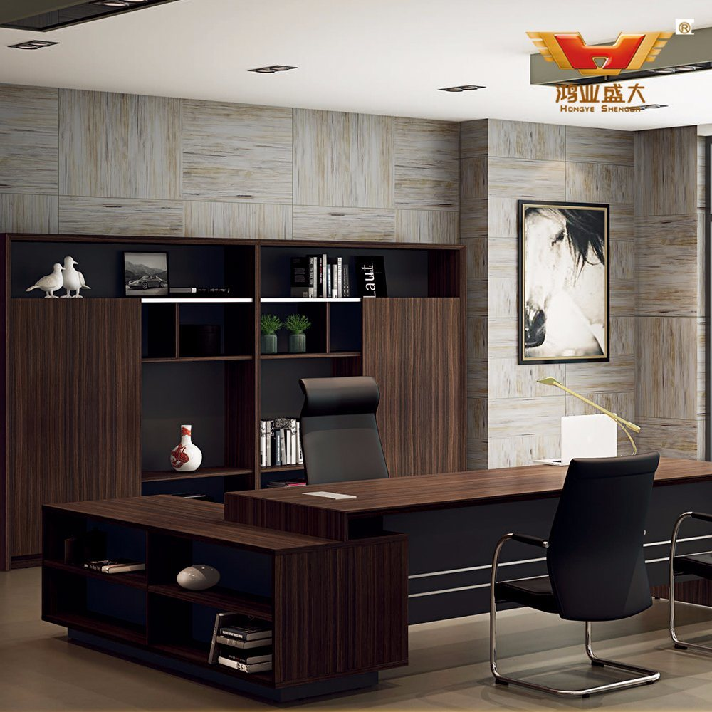 [Hot Item] Modern Executive Desk One Stop Office Solution
