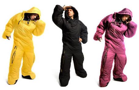 Human Outdoor Bag Sleeping Suit