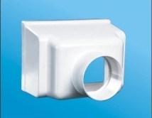 China Pvc Square Roof Drain Pvc Pipe Fitting Cl D34