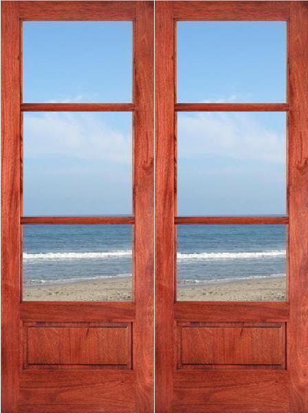 Hot Item Interior Modern Solid Teak Wood Door Price