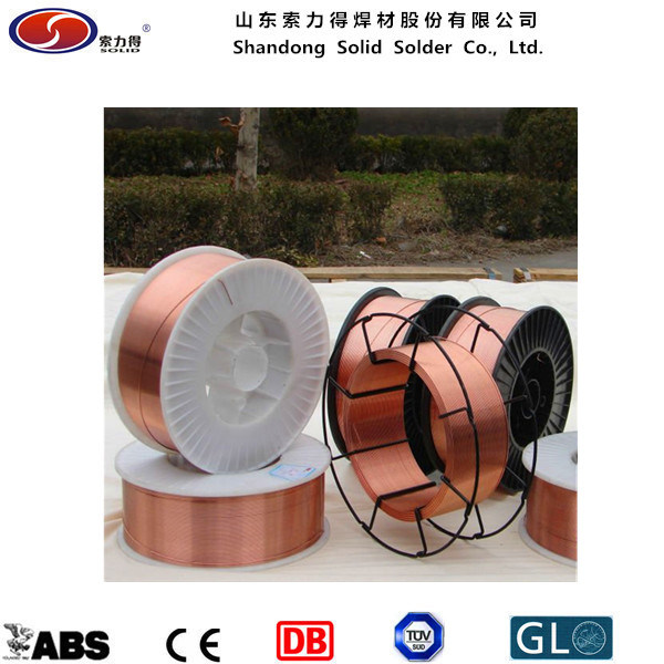 Copper Coated Welding Wire /CO2 Welding Wire Er70s-6