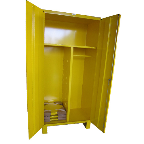 China Yellow Color Plastic Painting Sheet Metal Cabinet