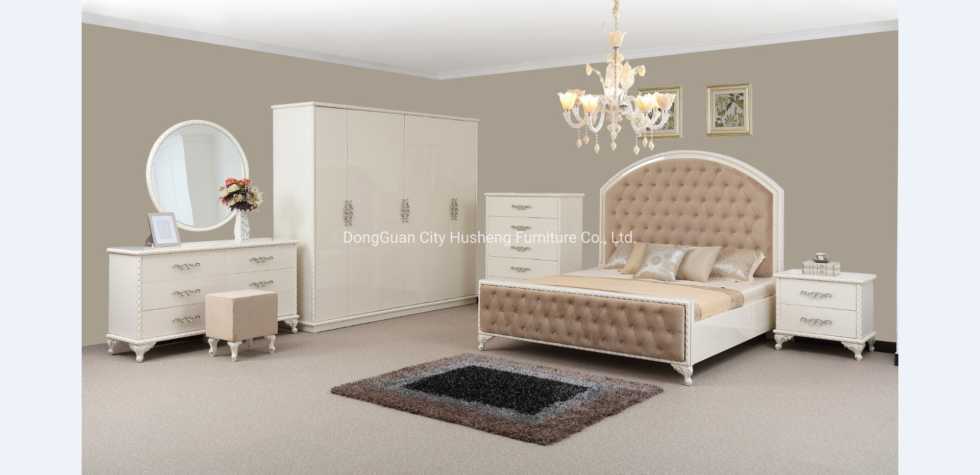 [Hot Item] Modern Design Bedroom Furniture Made in China with High Quality