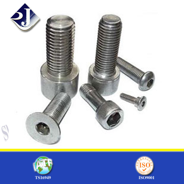 Zinc-Plated Steel Hex Cap Screw