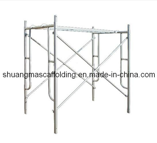 China Construction Mobile Platform Galvanized Frame Scaffolding ...