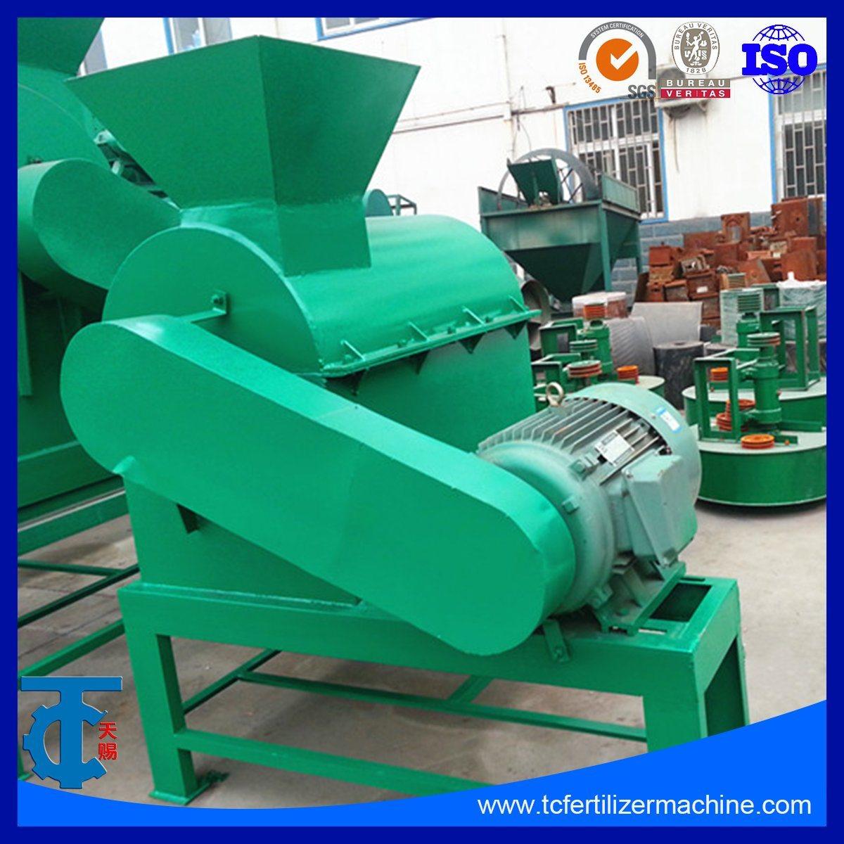 China Animal Waste Compost Crushing Machine for Organic Fertilizer  Production - China Livestock Manure Crusher, Organic Fertilizer Crushing  Process