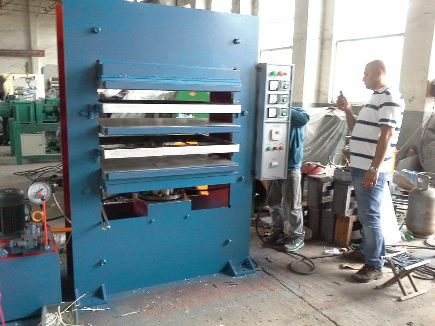 China Rubber Mat Floor Tile Making Machine China Rubber Tile
