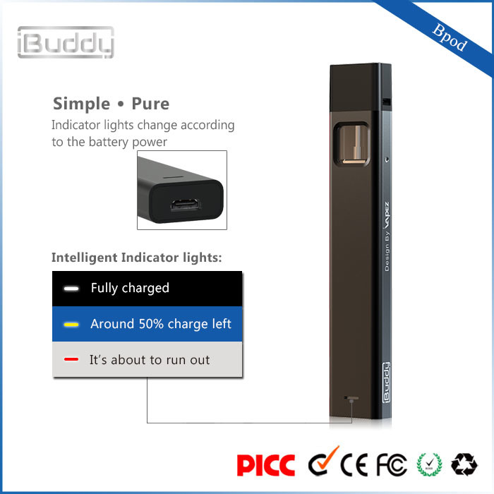 Ibuddy Bpod Vape Pods 310mAh Kit, EGO Electronic Cigarette/Mini Electronic Cigarette pictures & photos