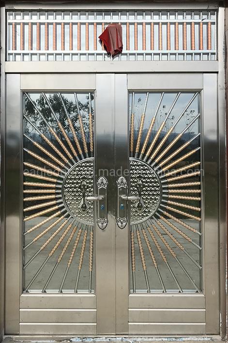 China Double Main Entrance Ss304 Door Exterior Metal Single Stainless Steel Doors China Security Door Metal Door