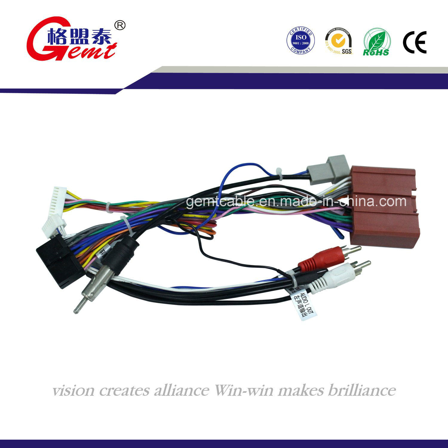China Dongfeng Fengguang F505 Honda Automotive Wiring Harness Electrical For Auto Cable Battery