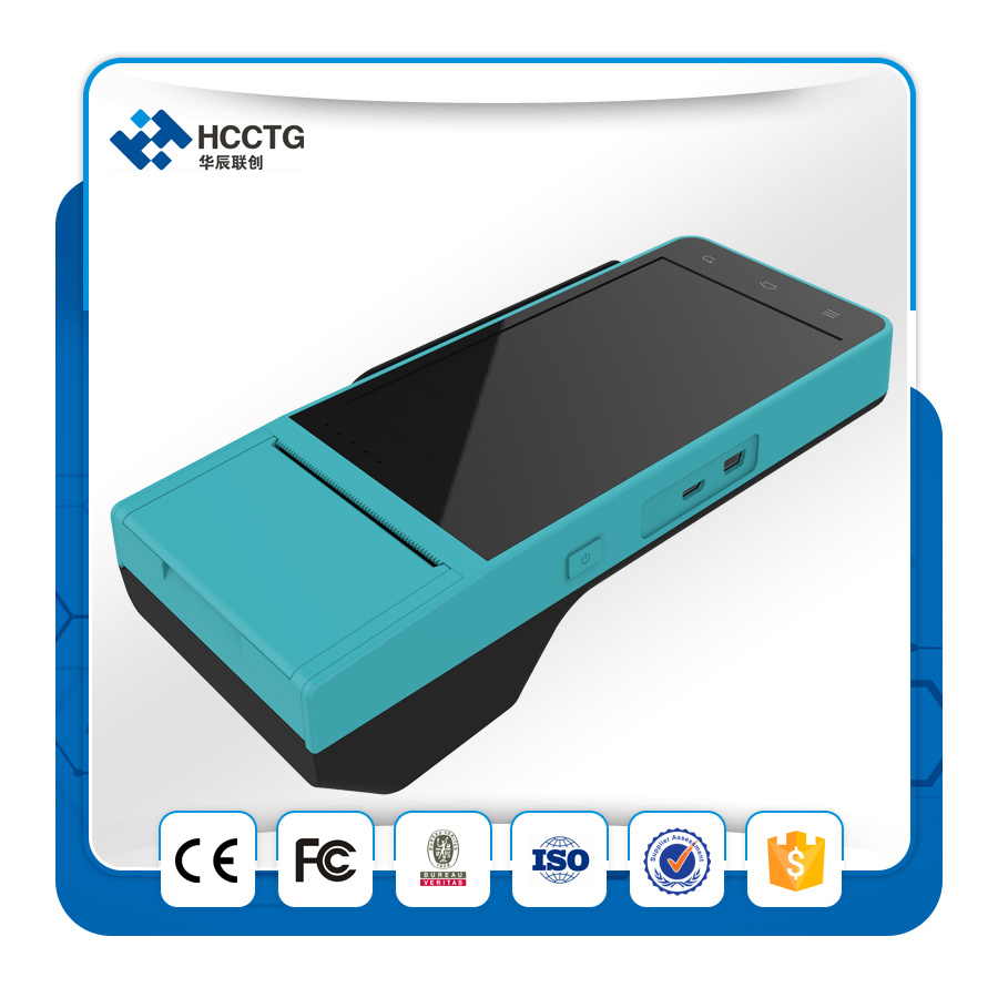 POS Terminal with 58mm Thermal Printer 2g 3G Bluetooth (HCC-Z90) pictures & photos