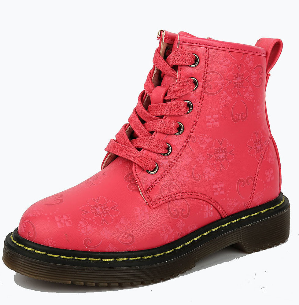 [Hot Item] Winter Pink Ankel Snow Boot Children Funny Shoes Kids Girls Boots