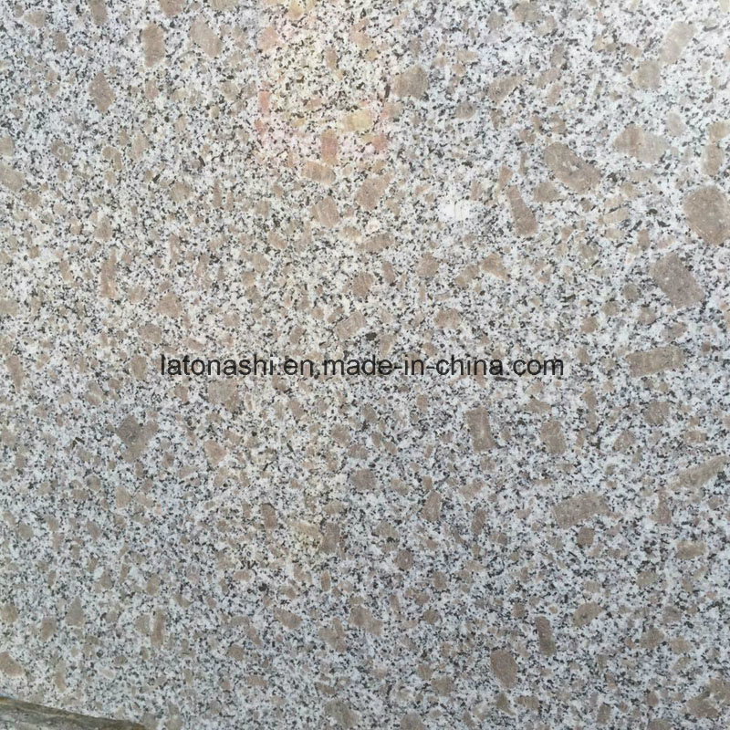 China Cheap Granite Tiles G383 Flower Pink With Polished Flamed Bh